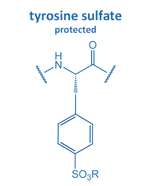 tyrosine sulfate protected